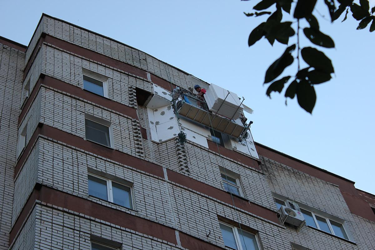 Капитальный ремонт фасада окпд 2